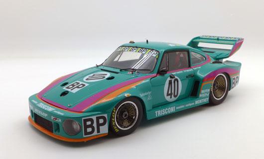 TSM 1/18 ポルシェ 935 #40 ポルシェ クレーマーレーシング 1979 ルマン24h