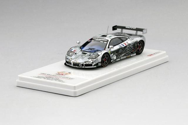 TSM 1/43 マクラーレン F1 GTR #42 Societe BBA コンペティション 1995 ル・マン24時間
