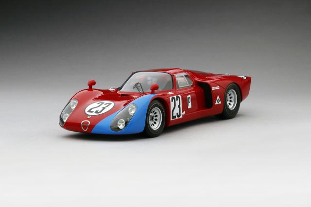 TSM MODEL 1/18 アルファロメオ Tipo 33/2 #23 1968 デイトナ24h M・アンドレッティ/L・ビアンキ
