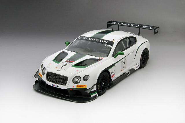 TSM 1/18 ベントレーGT3 #7 M-Sport ベントレー 2014 ブランパン耐久 シルバーストーン 優勝車  限定500台