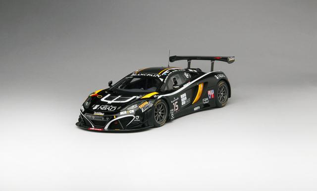 TSM 1/18 マクラーレン 12C GT3 #15 ブーツェン・ジニオン・レーシング 2014 スパ・フランコルシャン24h 限定500台