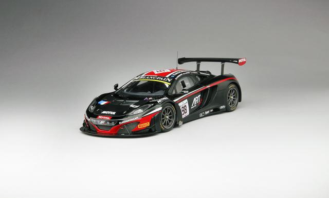 TSM 1/18 マクラーレン 12C GT3 #98 ARTグランプリ 2014  スパ・フランコルシャン24h 限定500台