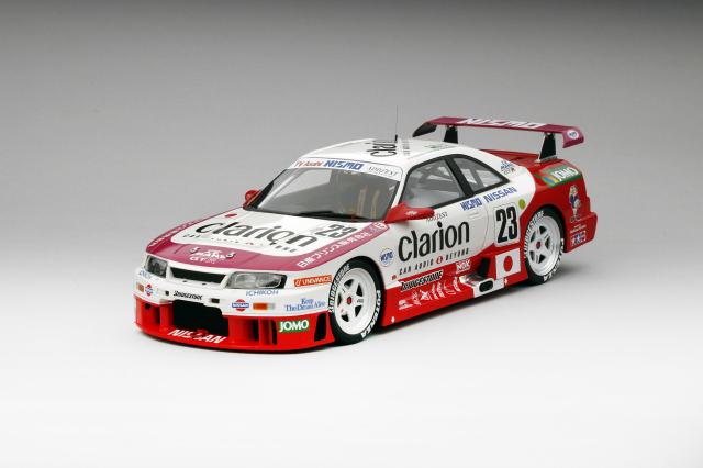 TSM MODEL 1/18 日産スカイライン GT-R LM #23 クラリオン 1995 ル・マン24h