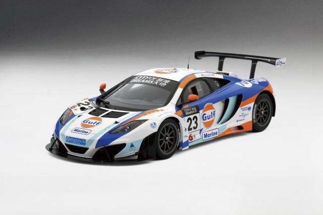 TSM MODEL 1/18 マクラーレン 12C GT3 #23 ガルフ ユナイテッドオートスポーツ 2013 マカオGP 2位