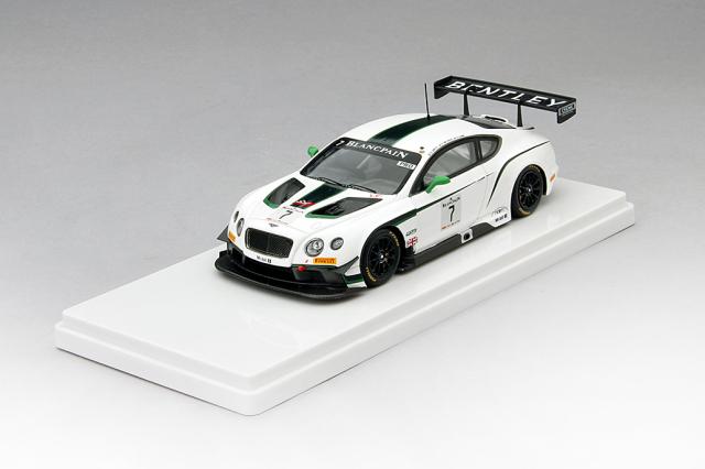 TSM 1/43 ベントレーGT3 #7 M-Sport ベントレー 2014 ブランパン耐久 シルバーストーン 優勝車