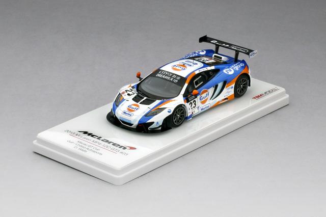 TSM 1/43 マクラーレン 12C GT3 #23 ガルフ ユナイテッドオートスポーツ 2013 マカオGP 2位