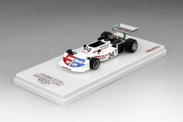 TSM 1/43 マーチ 761 #34 マーチレーシング 1976 モナコGP 4位 ハンス=ヨアヒム・スタック