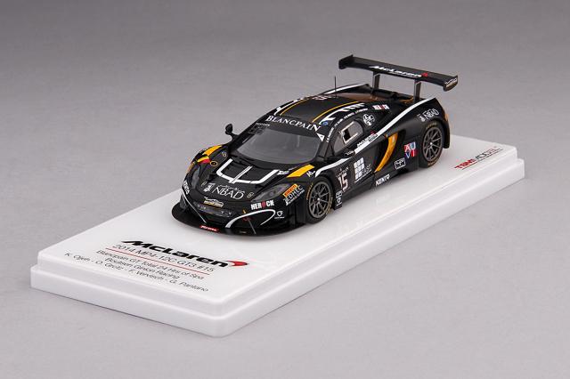 TSM 1/43 マクラーレン 12C GT3 #15 ブーツェン・ジニオン・レーシング 2014 スパ・フランコルシャン24h