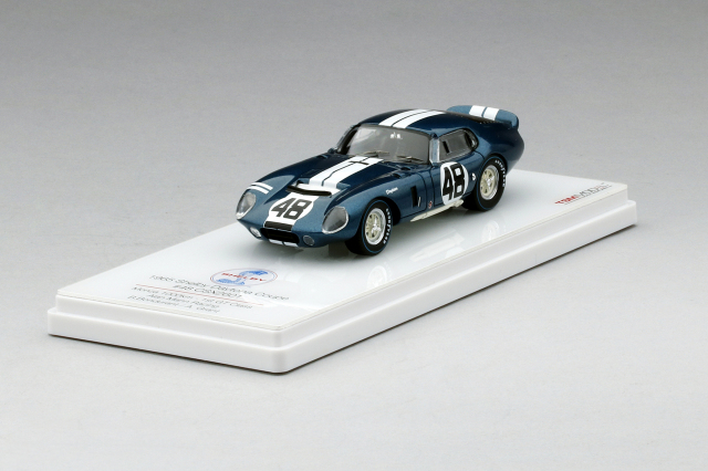TSM 1/43 シェルビー・デイトナクーペ CSX2601 #48 アラン・マン・レーシング 1965 モンツァ1000Km 1st GTクラス B・ボンデュラント/A・グラント