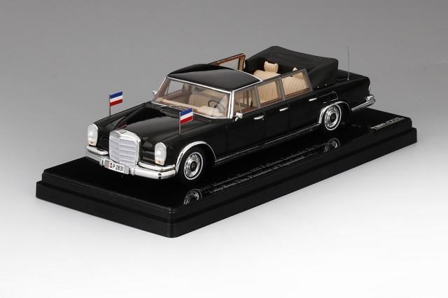TSM MODEL 1/43 メルセデスベンツ600 プルマン ランドーレット 1967 ヨシップ・ブロズ・チトー