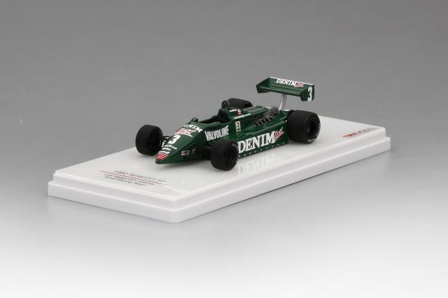 TSM MODEL 1/43 ティレル 011 #3 ティレルレーシングチーム 1982 ラスベガスGP 優勝