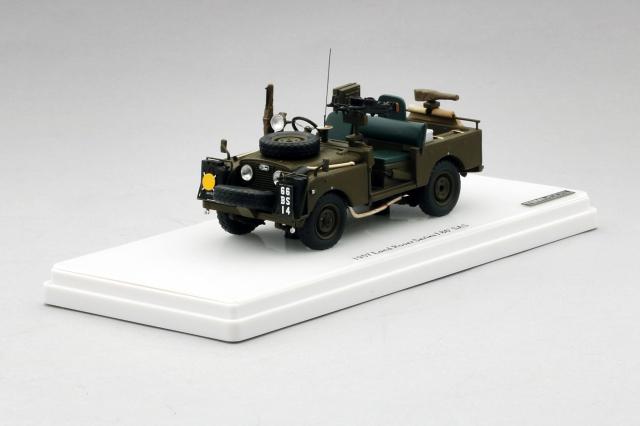 TSM MODEL 1/43 ランドローバー シリーズ1 86 SAS