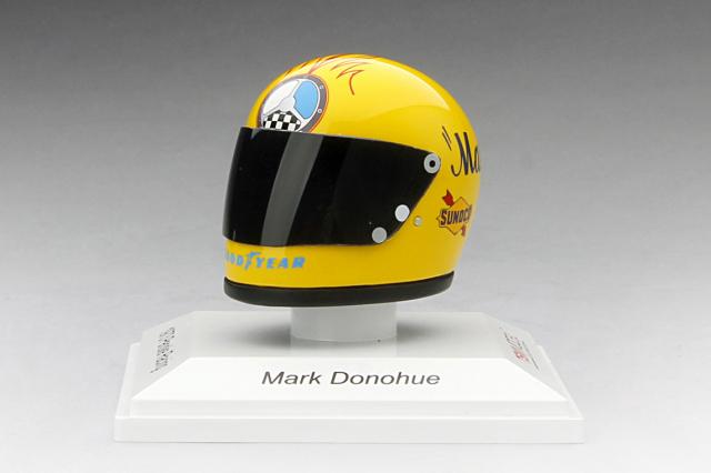 TSM MODEL 1/8 ヘルメットモデル マーク・ダナヒュー ペンスキー・レーシング 1973
