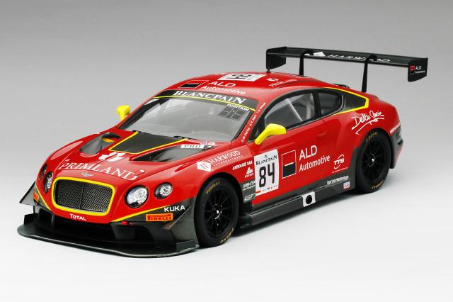 TSM MODEL 1/18 ベントレー GT3 #84 2015 スパ 24H ベントレー チーム HTP
