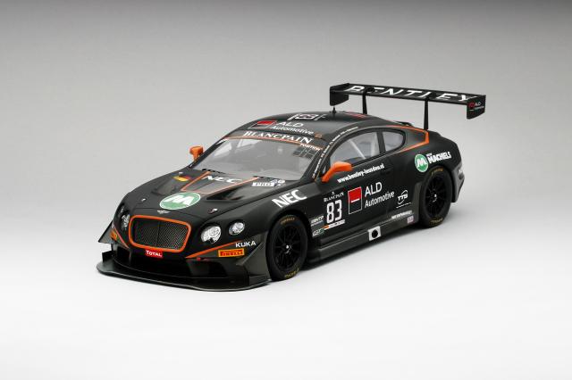 TSM MODEL1/18 ベントレーコンチネンタル GT3  #83 2015 スパ 24時間 Bentley Team HTP