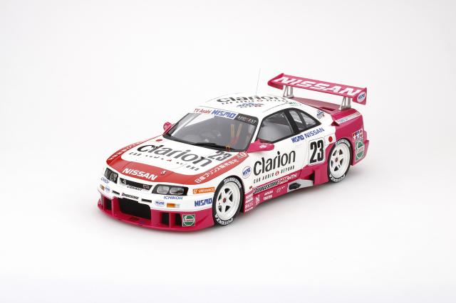 TSM MODEL 1/18 日産 スカイラインGT-R LM クラリオン #23 ル・マン24時間 1996