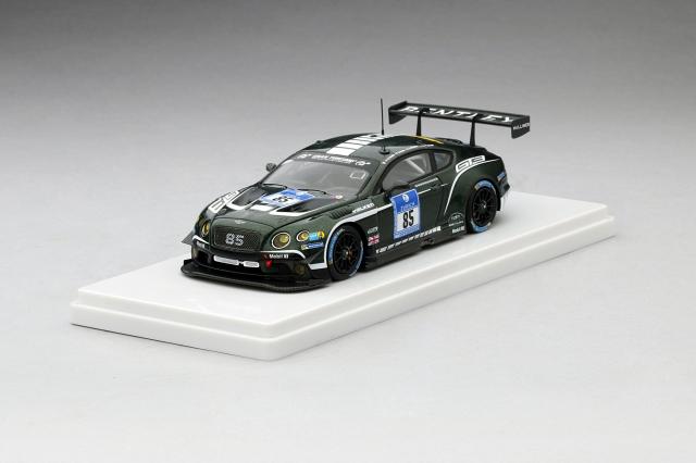 TSM MODEL 1/43 ベントレー コンチネンタル GT3 n.85 ニュルブルクリンク 2015