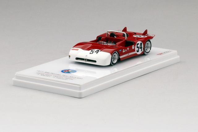 TSM MODEL 1/43 アルファロメオ Tipo 33/3 #54 1971 ブランズ・ハッチ 1000km 優勝車 A. Adamich/ H. Pescarolo
