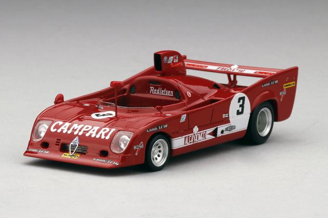 TSM MODEL 1/43 アルファロメオ T33 TT 12 #3 1975 ワトキンズ・グレン 6H 2位 M. Andretti /A. Merzario