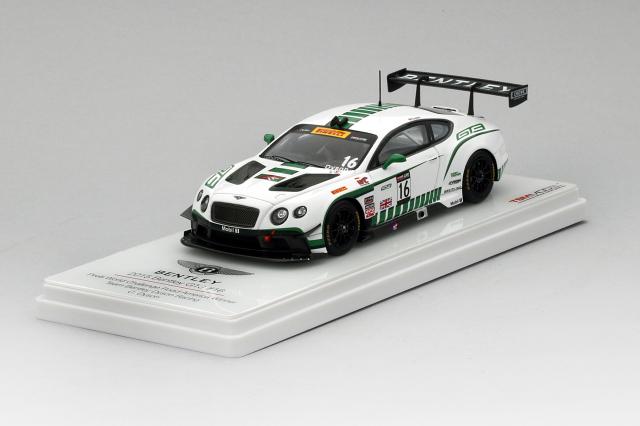 TSM MODEL 1/43 ベントレー GT3 #16 2015 ピレリワールドチャレンジ ロードアメリカ                優勝車 ダイソン・レーシング