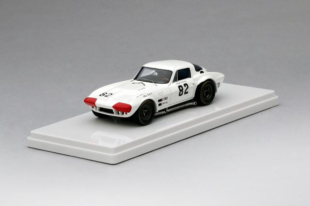 TSM MODEL 1/43 シボレー コルベット グランスポーツ #82 1964 ナッソー スピードウイーク 優勝車