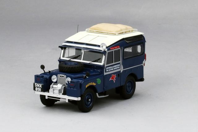TSM MODEL 1/43 ランドローバー 1955 シリーズ1 オックスフォード&ケンブリッジ 極東遠征 オックスフォード