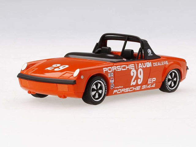 TSM MODEL 1/43 ポルシェ 914-4 American Road Race Chanpionship 1972 #29 Ritchie Ginther