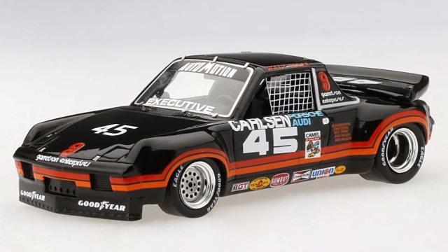 TSM MODEL 1/43 ポルシェ 914-6 キャメルGT ロードレースラグナセカ GTUクラス優勝車 #45