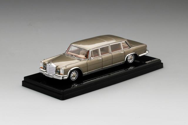 TSM MODEL 1/43 メルセデス 600 プルマン 6ドア 1964  ベルギー国王ボードゥアン1世
