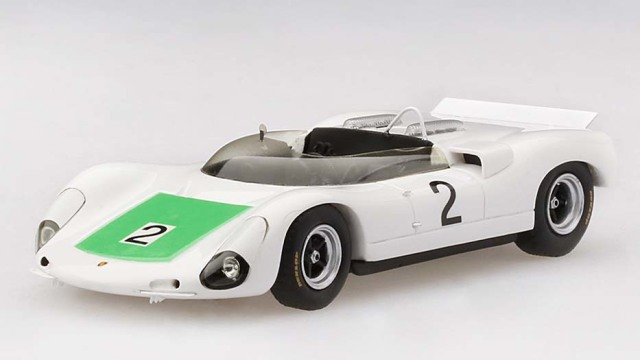 TSM MODEL 1/43 ポルシェ 910 ベルグスパイダー ヒルクライム世界選手権 2位 1967 #2