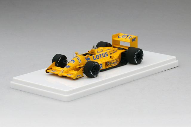 TSM MODEL 1/43 ロータス 99T #12 1987 イギリスGP 3位 アイルトン・セナ