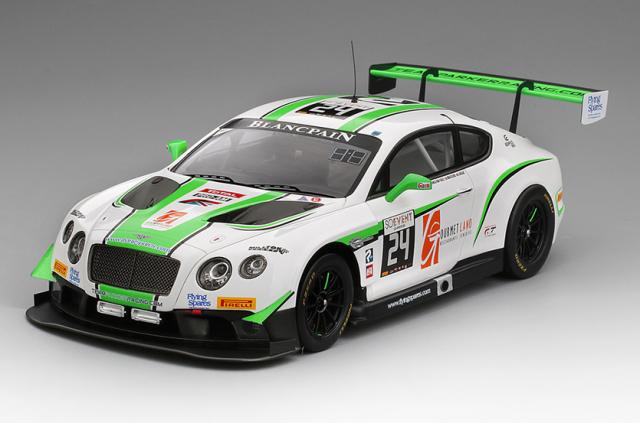 TSM MODEL 1/18 ベントレー コンチネンタル GT3 #24 ブランパン GTシリーズ スパ24時間 2016 耐久カップ チーム パーカー レーシング