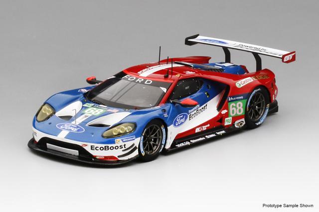 TSM MODEL 1/43 フォード GT #68 ル・マン24h 2016 LM GTE-Pro 優勝車 フォード チップ・ガナッシ・レーシング USA