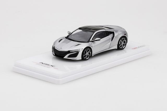 TSM MODEL 1/43 Honda NSX 2017 ソースシルバーメタリック