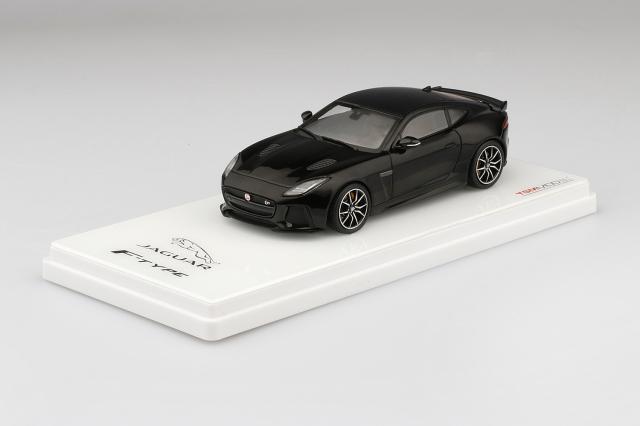 TSM MODEL 1/43 ジャガー F-TYPE SVR AWD (アルティメイト ブラック) ダイキャストモデル