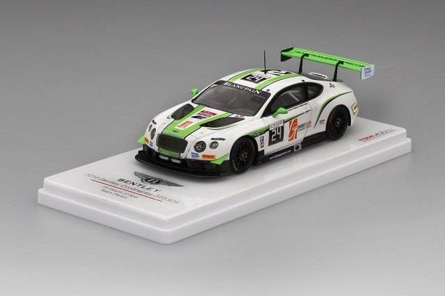 TSM MODEL 1/43 ベントレー コンチネンタル GT3 #24 スパ24時間 チームパーカー