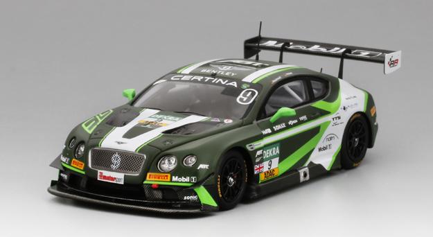 TSM MODEL 1/43 ベントレー コンチネンタル GT3 #9 ADAC GT マスターズ レッドブル リンク 2016 ベントレー チーム ABT