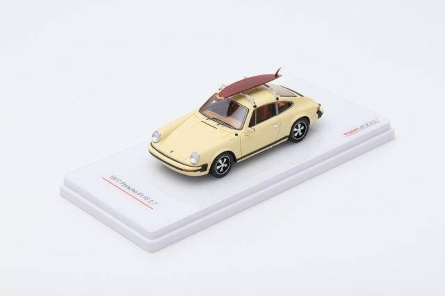 TSM MODEL 1/43 ポルシェ 911S 2.7 w/サーフボード