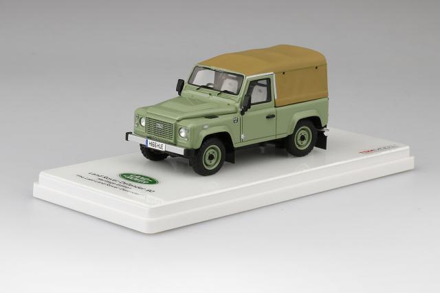 """TSM MODEL 1/43 ランドローバー ディフェンダー 90 ヘリテージ """"The last Land Rover Defender 90"""""""