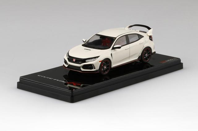 TSM MODEL 1/43 Honda シビック Type R チャンピオンシップホワイト (*左ハンドル)ダイキャストモデル