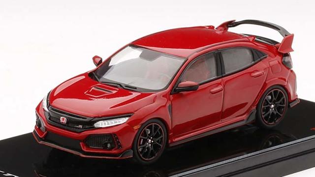 TSM MODEL 1/43 Honda シビック Type R ラリーレッド (*左ハンドル)