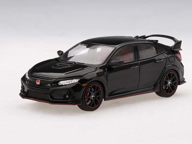 TSM MODEL 1/43 Honda シビック Type R クリスタル ブラックパール (*左ハンドル)