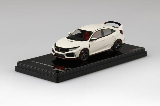 TSM MODEL 1/43 Honda シビック Type R チャンピオンシップホワイト (*右ハンドル)ダイキャストモデル