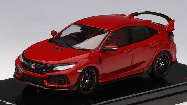 TSM MODEL 1/43 Honda シビック Type R ラリーレッド (*右ハンドル)