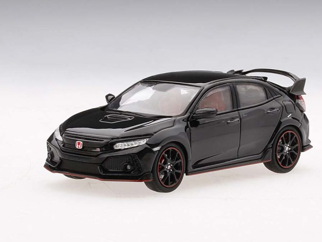 TSM MODEL 1/43 Honda シビック Type R クリスタル ブラックパール (*右ハンドル)