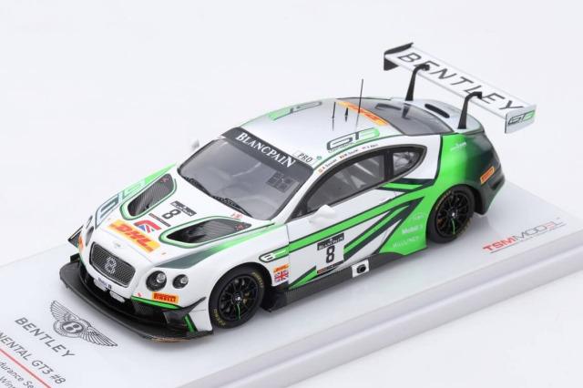 TSM MODEL 1/43 ベントレー コンチネンタル GT3 #8 ポールリカール1000km 2017 優勝車