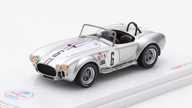 TSM MODEL 1/43 シェルビー コブラ 427 セブリング12時間 1966 クラス優勝車 #6
