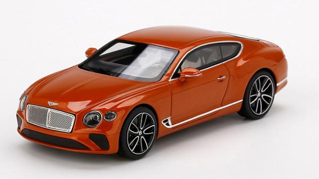TSM MODEL 1/43 ベントレー コンチネンタル GT オレンジ フレイム