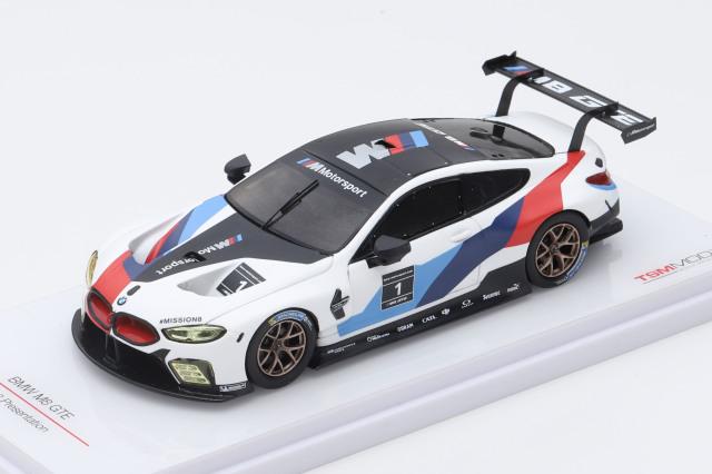 TSM MODEL 1/43 BMW M8 GTE 2018 プレゼンテーション