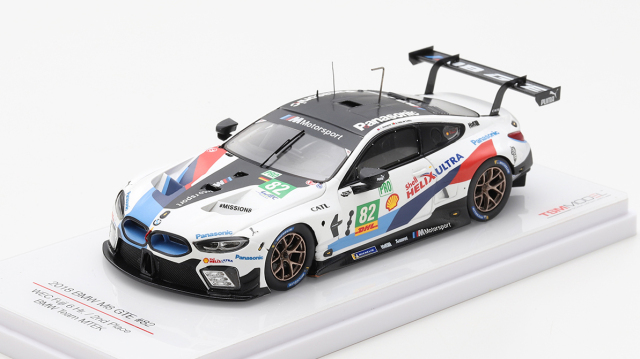 TSM MODEL 1/43 BMW M8 LMGTE WEC富士6時間耐久レース 2018 2位 #82 BMW Team MTEK